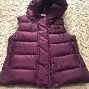 Nike Purple Puffer Vest